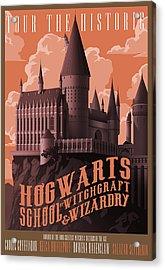 Tour Hogwarts Castle Acrylic Print by Christopher Ables