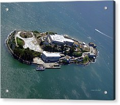 Tour Of Alcatraz Acrylic Print by Donna Blackhall