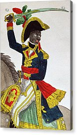 Toussaint Louverture Acrylic Print by French School