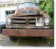 Tow Truck - Forks Washington Acrylic Print