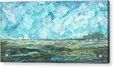 Toward Pinckney Island Acrylic Print