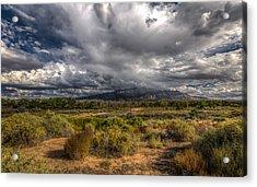 Towards Sandia Peak Acrylic Print