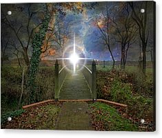 Towards The Light Acrylic Print by Brian Wallace