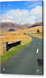 Towards The Mountain Acrylic Print