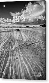 Towards The Ocean Acrylic Print by Masako Metz