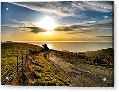 Towards The Sunset Acrylic Print