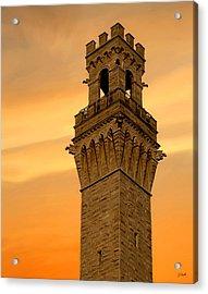 Tower Aglow Acrylic Print