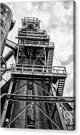 Tower At Bethlehem Steel Acrylic Print