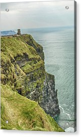 Tower At The Cliffs Of Moher Acrylic Print