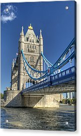 Tower Bridge 2 Acrylic Print by Chris Day