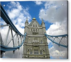 Tower Bridge 2 Acrylic Print by Madeline Ellis