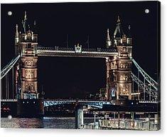 Tower Bridge 4 Acrylic Print