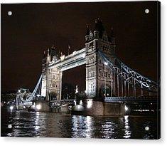 Tower Bridge By Night Acrylic Print