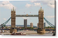 Tower Bridge C Acrylic Print