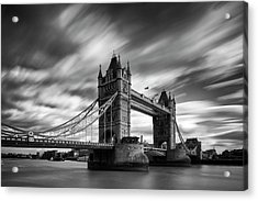 Tower Bridge, River Thames, London, England, Uk Acrylic Print