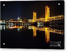 Tower Bridge Sacramento Acrylic Print