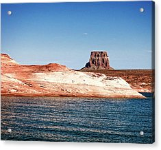 Acrylic Print featuring the photograph Tower Butte by Christopher Meade