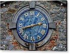 Tower Clock Acrylic Print