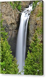 Tower Fall Acrylic Print by Greg Norrell