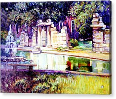 Tower Grove Park Acrylic Print by Stan Esson