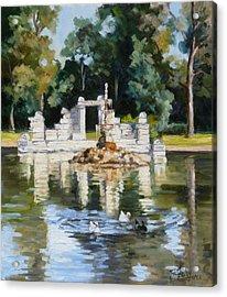 Tower Grove Park St.louis Summer Acrylic Print