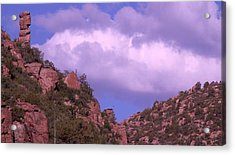 Tower Mountain Acrylic Print