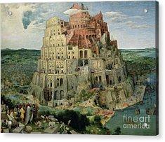 Tower Of Babel Acrylic Print