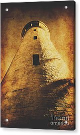 Tower Of Grunge Acrylic Print