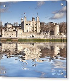 Tower Of London Acrylic Print by Colin and Linda McKie