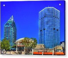Tower Place 100 Buckhead Atlanta Art Acrylic Print by Reid Callaway