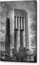 Tower Place 2 Buckhead Office Tower Art Acrylic Print by Reid Callaway