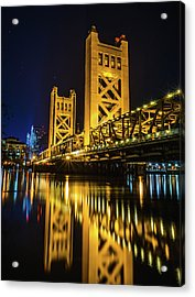 Tower Reflections Acrylic Print