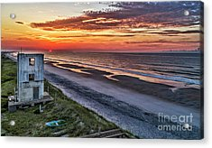 Tower Sunrise Acrylic Print