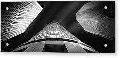 Tower Wars Acrylic Print by Az Jackson