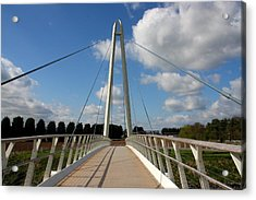 Towering Bridge Acrylic Print
