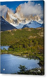 Towering Giant Acrylic Print by Inge Johnsson
