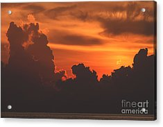 Towering Silhouettes Acrylic Print