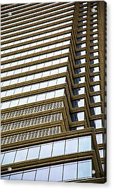 Acrylic Print featuring the photograph Towering Windows by Karol Livote
