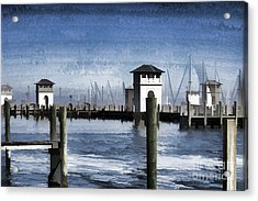 Towers And Masts Acrylic Print