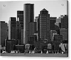 Towers Acrylic Print