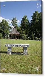 Town Park In Bartlett New Hampshire Usa Acrylic Print by Erin Paul Donovan