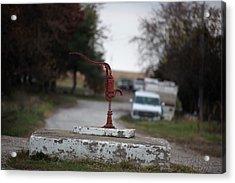 Town Pump Acrylic Print