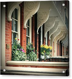 Townhouse Row - London Acrylic Print