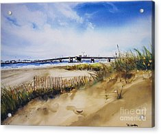 Townsends Inlet Acrylic Print