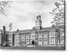 Towson University Stephens Hall Acrylic Print by University Icons