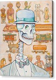 Toy Bones Acrylic Print