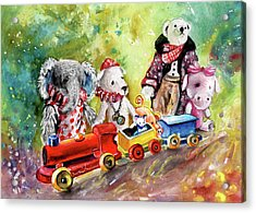 Toy Circus In Whitby Acrylic Print by Miki De Goodaboom