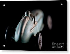 Acrylic Print featuring the photograph Toy Race Car by Wilma Birdwell