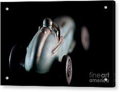 Toy Race Car Acrylic Print by Wilma Birdwell