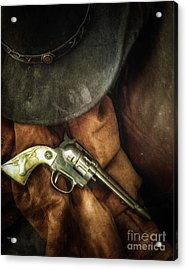 Toy West  Acrylic Print by Steven Digman